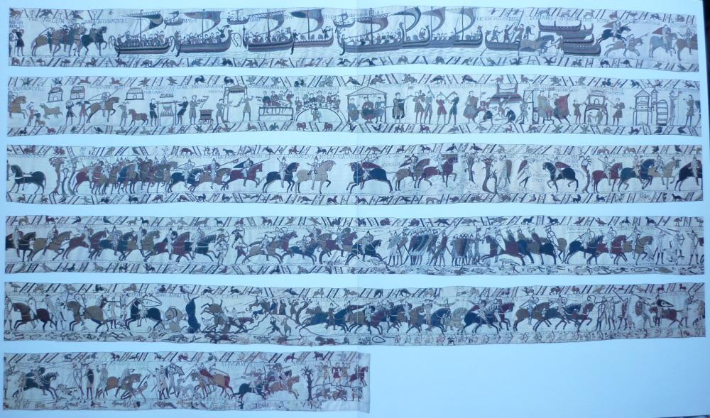 Tapisserie De Bayeux Integrale Tapisseries Designs