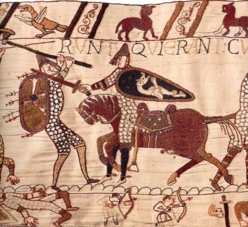La tapisserie de bayeux pr sentation choix de sc nes legende en latin - Comment decoller de la tapisserie ...