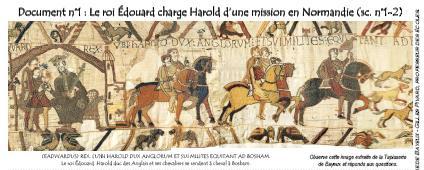 La Tapisserie De Bayeux Presentation Choix De Scenes Legende En Latin